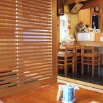 三城寿司 - 店内