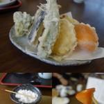 ニ八そば ひらい - 野菜の天ぷら