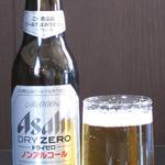 城東ホルモン - 呑みたいけど呑めないハンドルキーパーさんにはコレ!ノンアルコールはドライゼロをご用意してます。