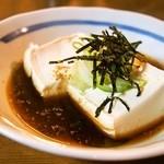 串かつ 千里 - 湯とうふ