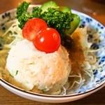 串かつ 千里 - ポテトサラダ