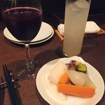 千駄木 露地 - コベルトのピクルスとお酒