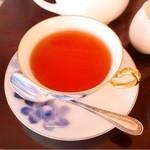 武蔵野珈琲店 - マスターズティーは、3種類の茶葉をブレンドしたマスターオリジナルの紅茶
