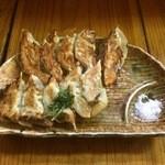 蓮 - チーズ 餃子(5ヶ)、しそ 餃子(5ヶ)