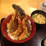天ぷら海鮮 五福 - 天丼