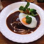 西洋料理杉山亭 - ハンバーグステーキ