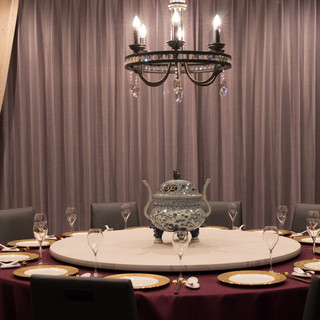 贅沢コースを優雅な個室で
