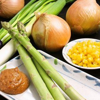 北海道由来を追求する厳選食材