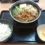 吉野家 - 料理写真:牛すき鍋膳