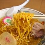 ラーメン信月 - しょうがラーメン:しお(麺)