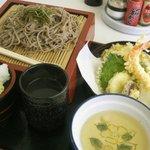 ひだか - ひだか・天ぷらそば¥750(2010.07)