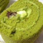 4427971 - ほっこり京のお濃茶ロールケーキ