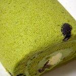 4427972 - ほっこり京のお濃茶ロールケーキ