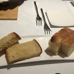 リストランテ サクラ - 林檎の酵母を使った自家製パン