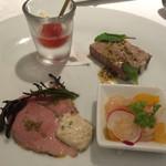 リストランテ サクラ - 1800円コースの前菜とは思えない美味しさ♪