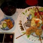 サマルカンド柴藤 - 串揚げ定食