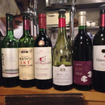 44274444 - 本日のグラスワイン(赤)