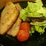 ピッツェリア カルモ - 生ベーコンの石釜焼き