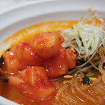 パンチャンとジョン - ユッケジャン麺