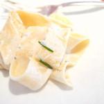 エキ ポンテベッキオ ア オオサカ - イタリア産4つのチーズのパッパルデッレ '15 8月上旬