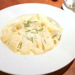 エキ ポンテベッキオ ア オオサカ - イタリア産4つのチーズのパッパルデッレ Sサイズ (907円) '15 8月上旬