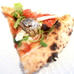 エキ ポンテベッキオ ア オオサカ - イワシの自家製オイルとういきょうのピッツァ Sサイズ '15 8月上旬