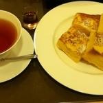 44276647 - モーニングセットD+紅茶