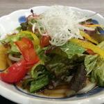 畑deきっちん - 冷たいサラダうどん680円