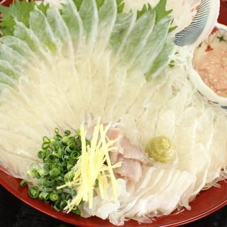 糸島産牡蠣の他、新鮮な魚介類や鮮魚のお刺身もおススメ♪