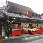 糸切餅 元祖莚寿堂本舗  - 外観