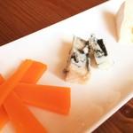 チーズの盛合せ 3種