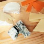 チーズの盛合せ 5種