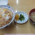 ことぶき食堂 - 料理写真:かつ丼