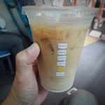 ドトールコーヒーショップ - 「アイスカフェ・ラテ」M300円