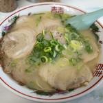 44281912 - 「チャーシュー麺」(600円)。贅沢~♪