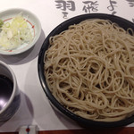 平沼 田中屋 - とんかつ御膳のそば、デザートみたいに、とんかつ定食の食後に、ツルッとたぐる。庶民的な幸せを感じる。