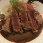 昔洋食 みつけ亭 - 牛フィレ肉のビーフカツレツ