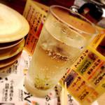 回転寿司がんこ - 梅チューハイ
