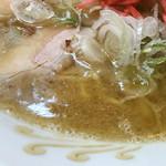 一龍 - 濃厚なスープ