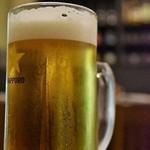 肴屋さん 酒酒 - ドリンク写真:サッポロ黒ラベル生¥500