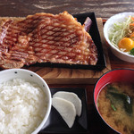 べべんこ - 豊後牛ステーキ定食 3460円