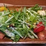 ポルコ カーサ デ ブタヤ - 1日の1/2野菜サラダ