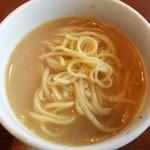 小肥羊 - 〆の白湯細麺