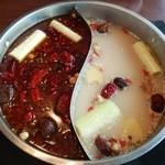 小肥羊 - 火鍋(大辛麻辣+白湯)