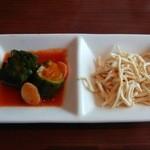 小肥羊 - 前菜 辣黄瓜と乾豆腐