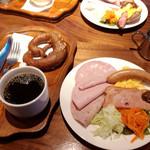 44297194 - プレッツェルセット650円                       コーヒーは美味しくない(⌇ຶД⌇ຶ)