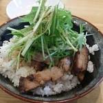 44297796 - チャーシュー丼 ¥350-