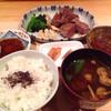 Sutekitei - 料理写真:メインの一通り。レアなミディアムレアだけど。
