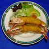 グリル オアゾ - 料理写真:大海老フライ