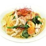 三年坂モリコーネ - 大阿蘇鶏とゆり根の柚子胡椒風味